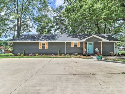 Photo for NEW! Waterfront Lake Sinclair Home w/ Boat Dock!