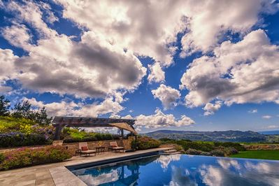 LUXURY CHATEAU IN CARMEL, PANORAMIC VIEW.