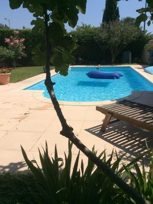 Photo for Charming Villa with Pool, very close to Avignon, ideal for the Festival