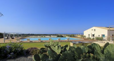 Photo for Elegant Resort with panoramic pool in the countryside near the sea