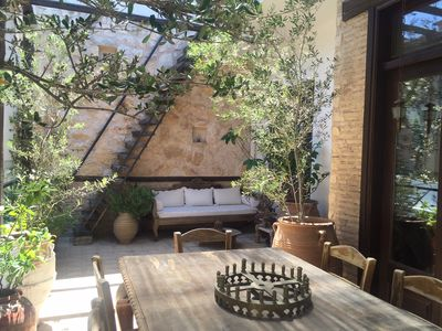 Photo for Boutique Rustic Apartment with Amazing Terrace