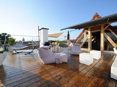 Photo for City penthouse with roof terrace