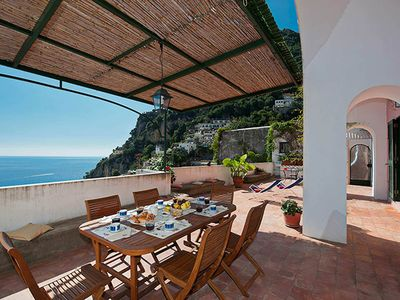 Photo for Casa Ocean, is a wonderful house in Positano, with wonderful terraces with amazing sea view, 3 bedro