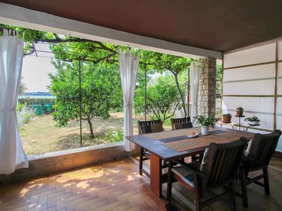 Photo for Holiday apartment 15 m from the beach with terrace