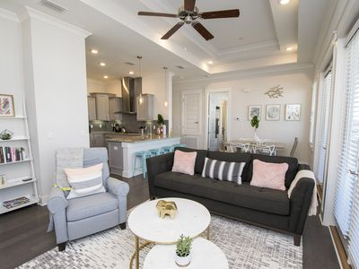 Photo for Rose on 30A. New Beach Property in 30A! Lagoon Pool, Fitness Center, Beach Shuttle. 4 Complimentary Bikes!