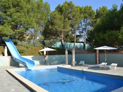 Photo for Villa with slide, swimming pool, summer kitchen and tennis court
