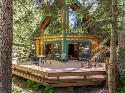 Photo for Charming 3BR Chalet w/ Fireplace & Loft - Close to Donner Lake