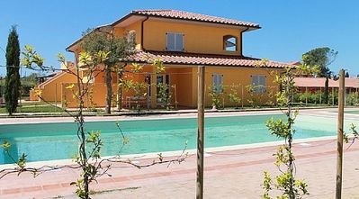 Photo for 2 bedroom Villa, sleeps 7 in Casa Botrona with Pool, Air Con and WiFi