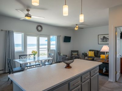 Photo for Beautiful views and a spectacular rental right across from the Beach!