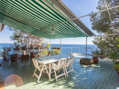 Photo for Spectacular view, wifi, direct access to the sea