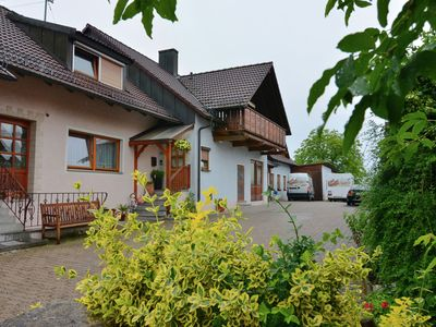 Photo for Cosy apartment in a state-approved health resort in the Steigerwald Nature Park