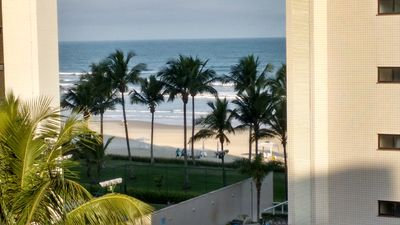 Photo for Apt facing the sea. Beautiful view from the balconies of the living room and bedrooms!