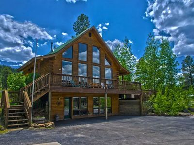 Photo for Gorgeous Mountain Views w/ Hot Tub Close to River, Wolf Creek Skiing & Hiking