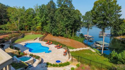 Photo for Beautiful Private Lakefront with Pool, Hot Tub, Boat dock