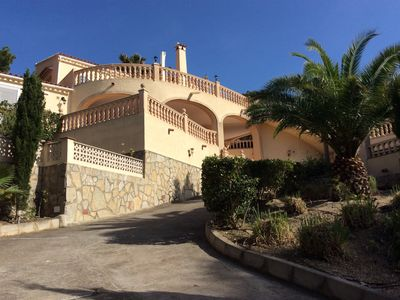 Photo for Villa beautiful sea view in Javea, Costa Blanca, for 2/4 or 8 pers, from 1000 € / week