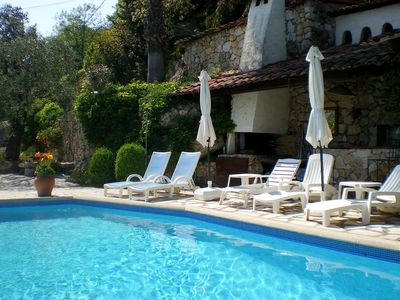 Photo for Luxury villa/apart.Private heated pool, close to village and 20mins Nice/Vence