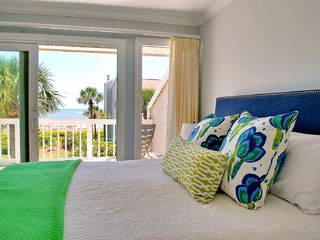Oceanfront Villa With Screened Porch In Wil Vrbo