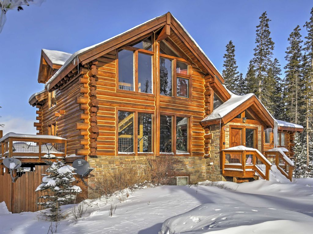 cabin homeaway walk cabins rental main vacation to cozy breckenridge street