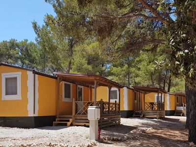 Photo for Vacation home Camping Port 9 *** in Korčula/Korčula - 6 persons, 2 bedrooms