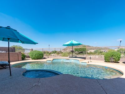 Photo for RESORT HOME ON GOLF COURSE!<HEATED POOL<2 HOT TUBS<FIREPIT<OUTDOOR TV<& MORE