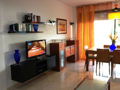 Photo for Aquamar A.M - Spacious apartment, garden view, quite and relax