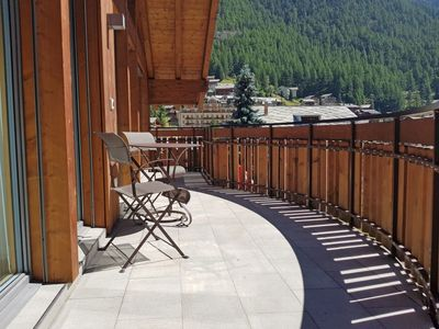 Photo for Apartment in the center of Zermatt with Internet, Pool, Lift, Balcony (45945)