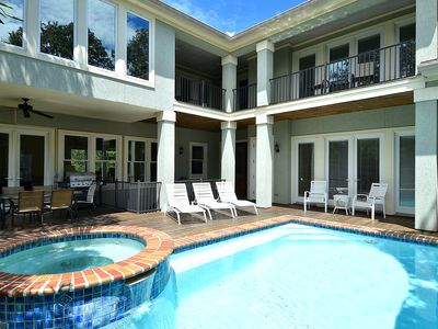 Photo for Discounted Rates! Luxury Spacious Beach Home -  Free Spring & Fall Pool Heat!
