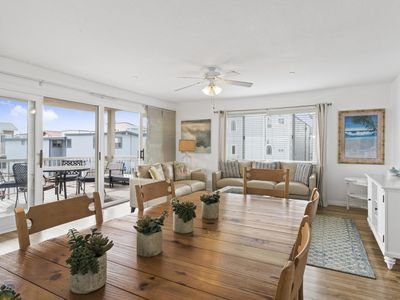 Photo for Ocean View Corner Unit w Rooftop Deck - 1 house to Beach - sleeps 13