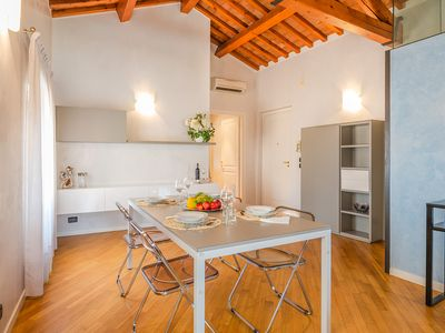 Photo for Attic Ponte Pietra - apartment with scenic view