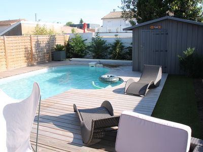 Photo for Ideal VINEXPO - Architect house with pool near the center of Bordeaux