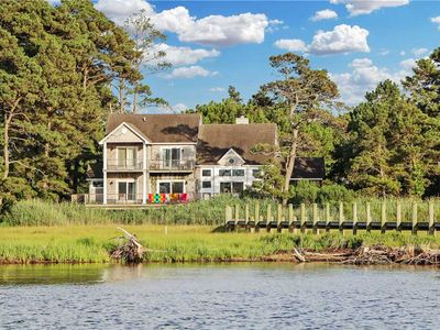 Photo for Luxury Bayfront Home with Dock!