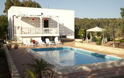 Photo for 3 Bedroom Villa with pool set in it's own olive grove