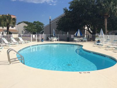 Photo for 2 Bedroom Family Affordable Townhouse Across The Street From The Beach