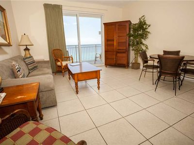 Photo for Tile Floors Throughout The Main Area Plus Stunning Views From Private Balcony