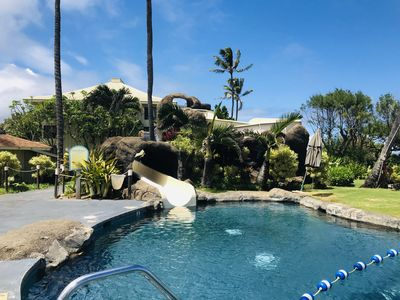 Photo for Kauai Beach Resort 3217, Sleeps 2, ocean view and only steps to the beach