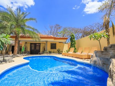 Photo for Casa Surf, 30 second walk to beach, private pool!