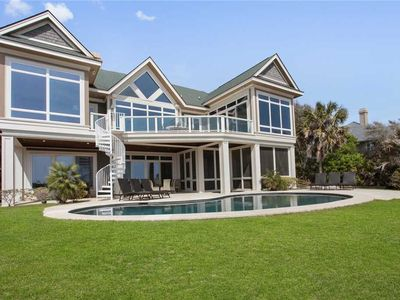 Photo for Gorgeous oceanfront home sleeps 22*!