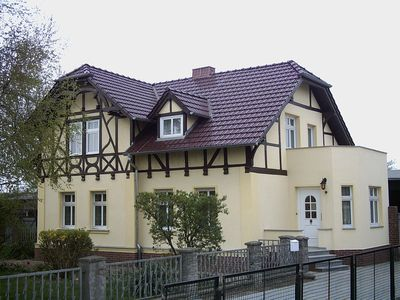 Photo for Holiday apartment in a half-timbered house in the Oder