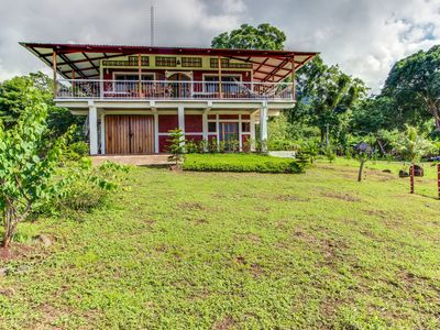 Photo for One-of-a-kind island retreat on a working eco-farm - lake views & home comforts!