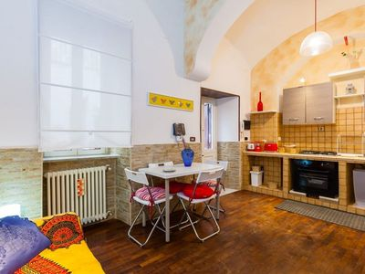 Photo for Cozy Cavour apartment in Stella with WiFi & private terrace.
