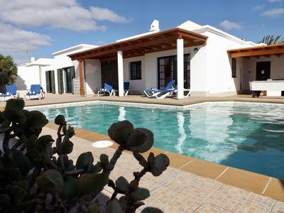 Photo for Stylish 3 Bedroom Villa, with Private Pool, Pool Table & Alfresco Bar Area