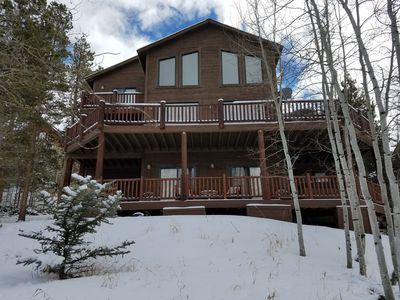 Photo for Big Horn Cabin -Family Friendly - 5Bd/5ba-sleeps 12-hot tub!