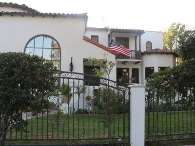 Photo for Beautiful 1920 s Spanish home in the heart of Toluca Lake w/1Br Guest House