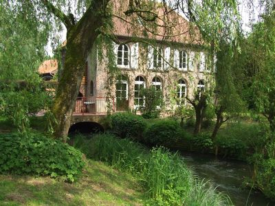 Photo for gîte in a water mill capacity of 12 persons, pets allowed.