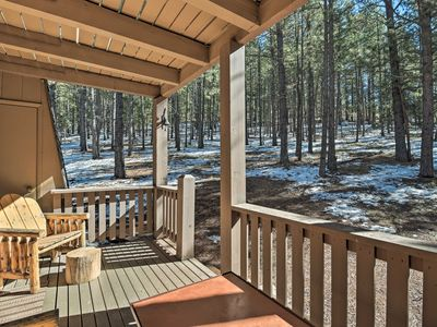 Photo for NEW! Rustic Condo - Walk to Angel Fire Resort!