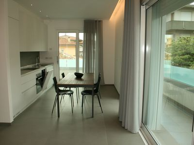 Photo for New and elegant apartment in Viserba di Rimini, a stone's throw from the sea!