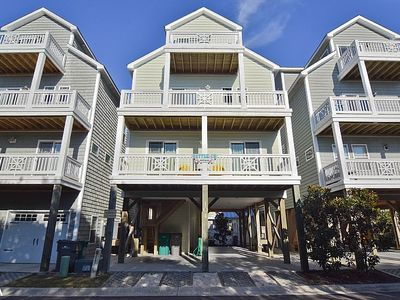 Photo for Settle In - ON SALE!! - Sound and Ocean Views! Community Pool and Pier Access!!