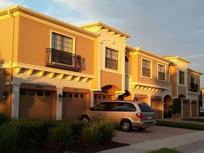 Photo for Paradise Only 4 Miles to the Beach ! 1277 sq. ft. heated lagoon pool, gym, clubhouse, restaurants