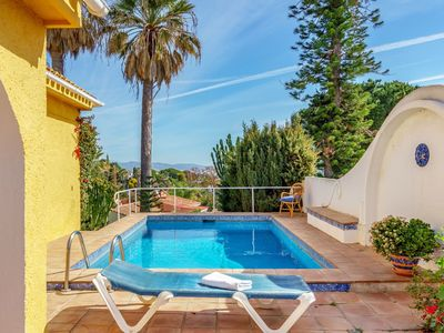 Photo for Wonderful private villa for 8 people with private pool, A/C, WIFI, TV and parking