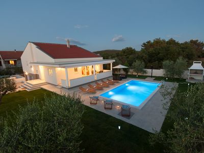 Photo for Beautiful Villa Karla, in Dalmatia with a Pool